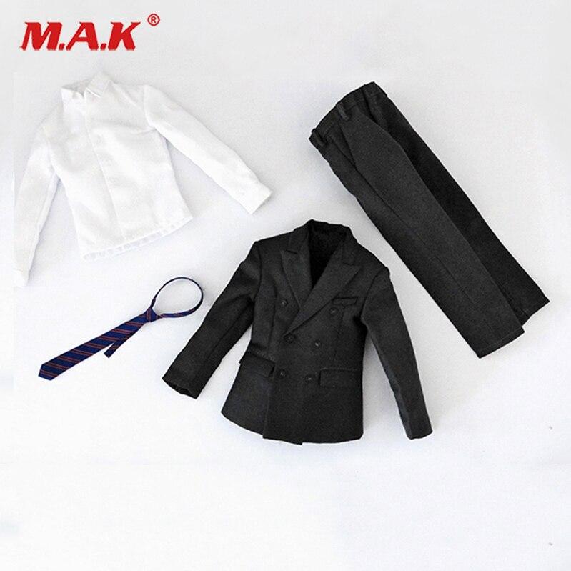 1//6 Plaid Shirt Clothes Set Fit 12/'/' Male Action Figure Collectible Accessories