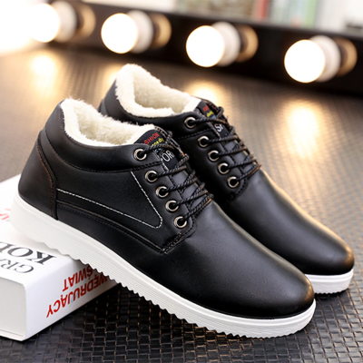 Men's Boots Fashion Super Warm Winter Shoes Outdoor Men Boots Casual Brand Snow Boots Keep Warm Ankle Boots Botas