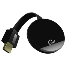 HDMI Wireless Display Wecast G4 for Android iOS YouTube Google Chrome Airplay Support 4G Cellular Data Casting TV Stick