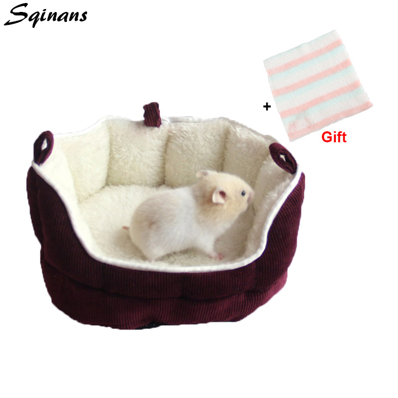 Sensational Us 7 99 25 Off Sqinans Plush Hamster Sofa Bed Durable Corduroy Guinea Pig Rabbit Sleeping Beds Detachable Winter Warm Small Animal Pet Bed In Cages Gmtry Best Dining Table And Chair Ideas Images Gmtryco