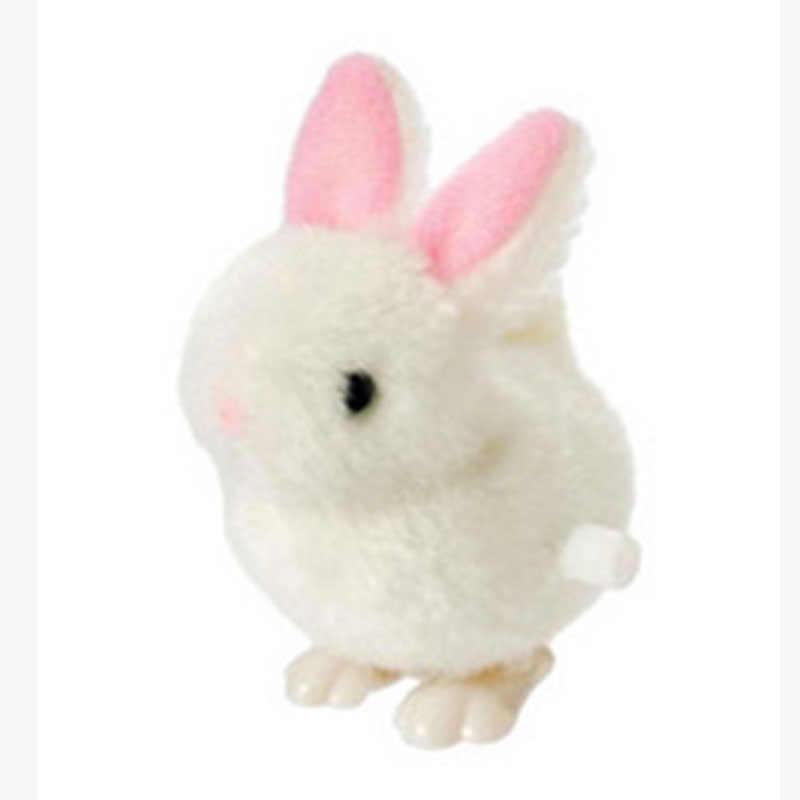 Пасхальная Игрушка Дети Новые детские игрушки пластиковые прыжки белый кролик ветер Пасхальный кролик игрушки для детей