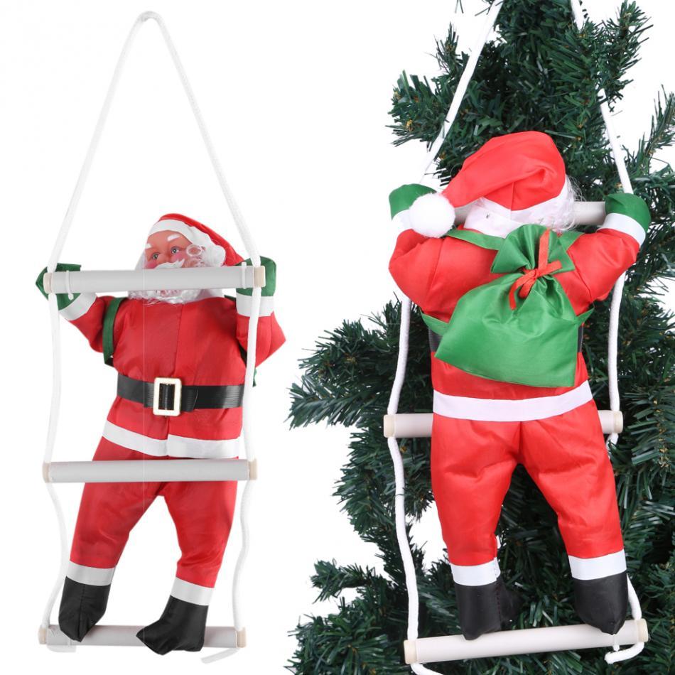 Climbing Santa Claus Toy Christmas Tree Indoor/Outdoor