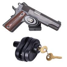 3 шт/лот замок триггер из цинкового сплава с 2 ключами для пистолета