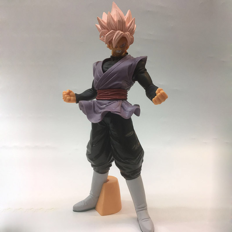 Honest Dragon Ball Super Goku Black Action Figure 1/6 Scale Painted Figure Super Saiyan Rose Zamasu Pvc Figure Toy Brinquedos Anime Large Assortment Toys & Hobbies