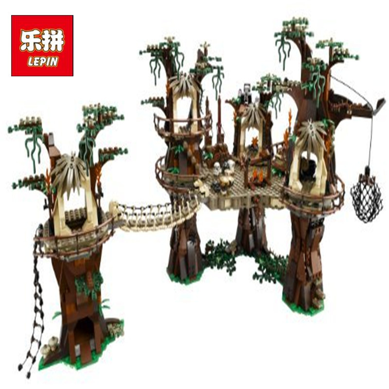 Lepin 05047 Star Series War The E Set wok Village Model Building Blocks Bricks Educational Funny Boy Toys 10236-1 rollercoasters the war of the worlds