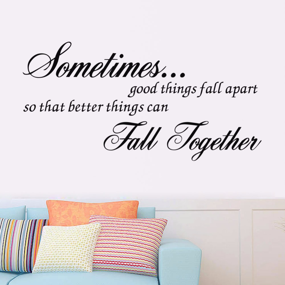 Online Get Cheap Wall Decals Quotes Aliexpresscom - fall home decor quotes