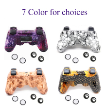 11 Stil Bluetooth Gamepad Drahtlose für PS3 Controller für Play Station 3 Wireless Console Joypad Joystick mit Freies Rocker kappe