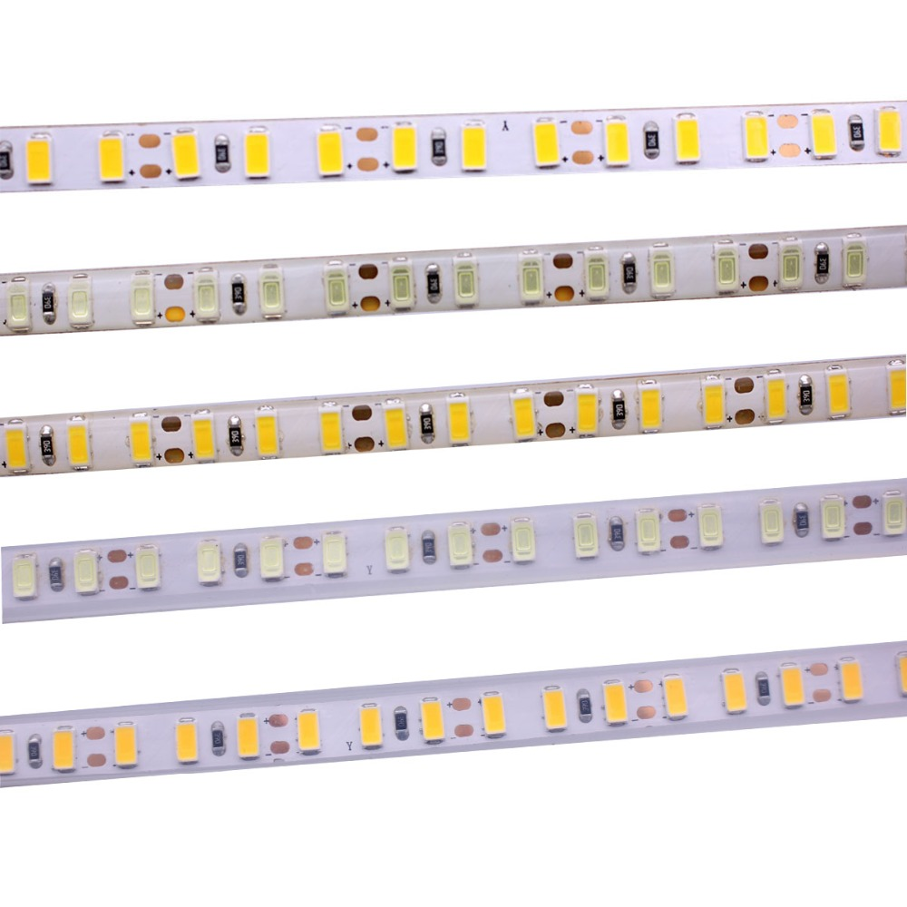 8mm PCB SMD 5630 5730 Led Strip Light 120leds/m Waterproof IP20 65 67Flexible 600 LED Tape 5m DC 12V Rope Ribbon String Lamp