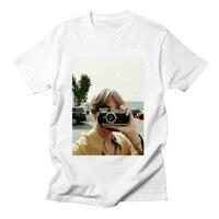 Kpop Bangtan/короткие женские летние футболки с коротким рукавом для мальчиков, Корейская футболка, топы, женская одежда, женские рубашки, Прямая ...