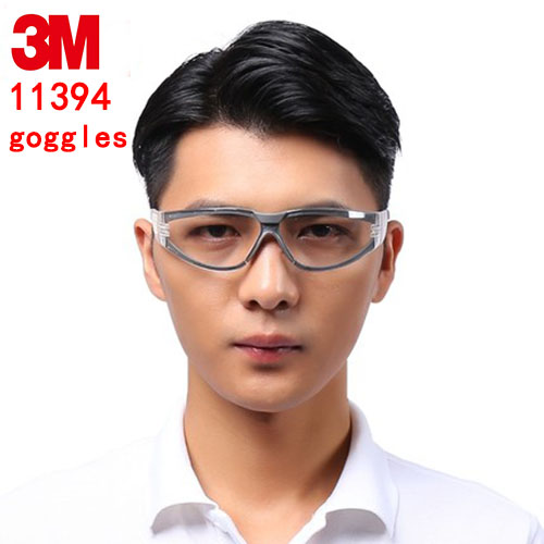 цена на 3M 11394  safety glasses Genuine security 3M protection glasses outdoor Riding a sport Labor protection safety goggles