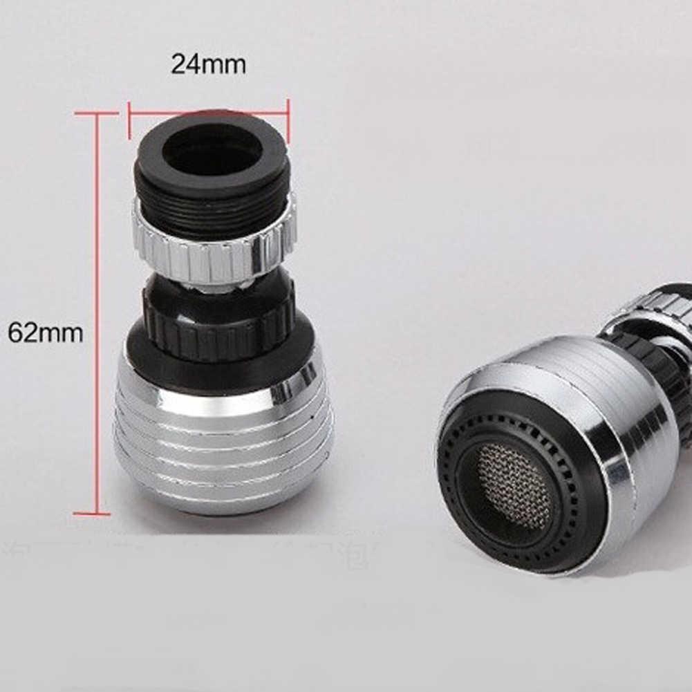 360 Memutar Keran Hemat Air untuk Dapur Aerator Diffuser Faucet Nozzle Filter Adaptor Pendingin untuk Rumah Ramah Lingkungan
