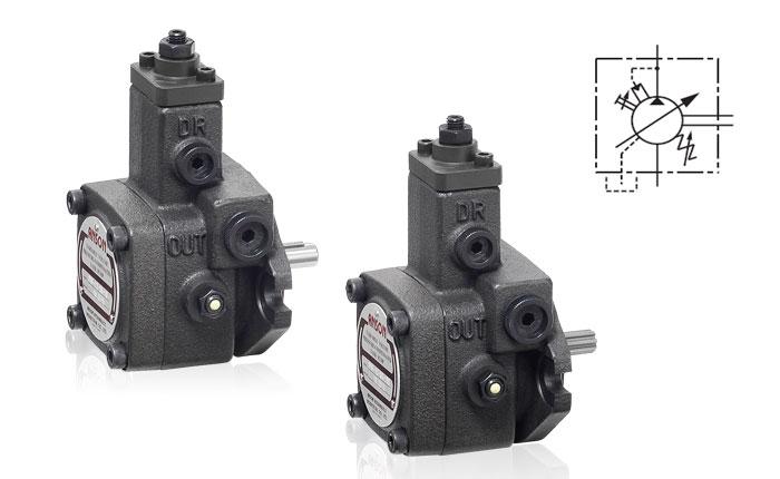 ANSON variable displacement vane pump PVF 30 55 10 PVF 30 70 10 PVF 30 35