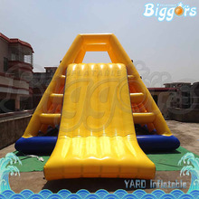 Inflatable Water Slide Inflatable Climbing Water Slide Inflatable Floating Water Slide On Sea