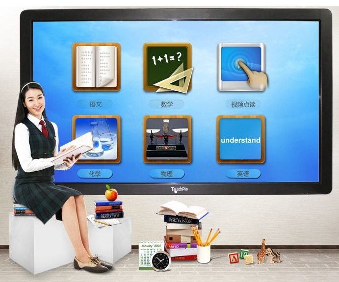Wholesale Led Lcd Tft Hd Cctv Monitor 55 To 84 Inch All In One Touch PC,i3, I5 , I7,' Interactive Digital Signage Display