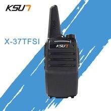 1 pcs buxun X-37TFSI walkie talkie 6 w alta potência 4000 mah li-ion bateria nova banda dupla buxun rádio em dois sentidos