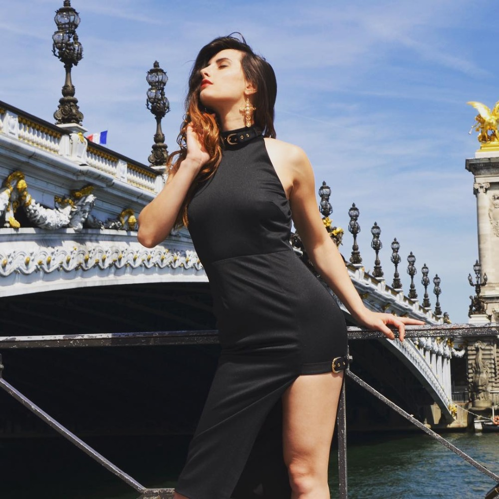 2e0be3583a67 Senza Maniche Estate Stile Delle Nuovo Con Elegante Modo Commercio  Temperamento Di Corpo Del Alta Sexy All ingrosso Vestito Abiti Donne ...