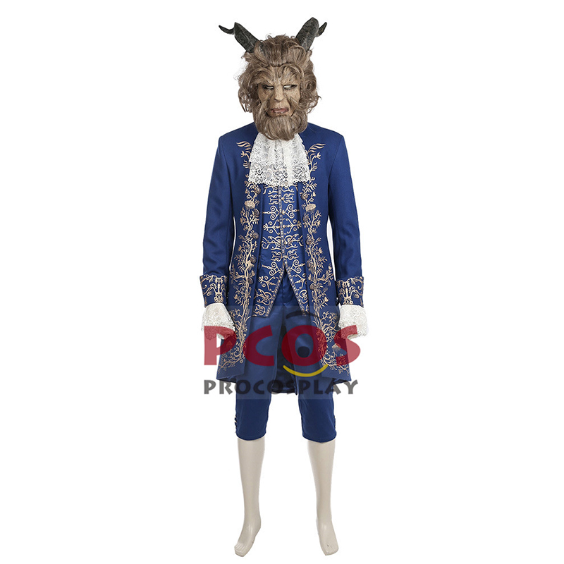 The Beast Prince Cosplay Costume & Mask mp003605
