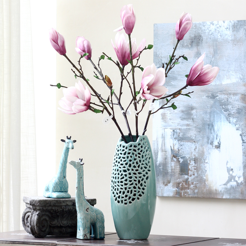 Wanyu Kapok Simulasi Bunga Panjang Tongkat Baru Cina Silk Bunga