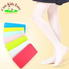 Kids Girls Baby Soft Pantyhose Ballet Dance Tights Thin Female 6 Colors Child Kids Tights Velvet