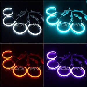 Image 5 - RGB LED עיני מלאך עבור BMW 3 5 סדרת E46 E36 E39 סדאן/Wagon/קופה פנס כוונון DRL הילות רב צבעים Retrofit אבזר