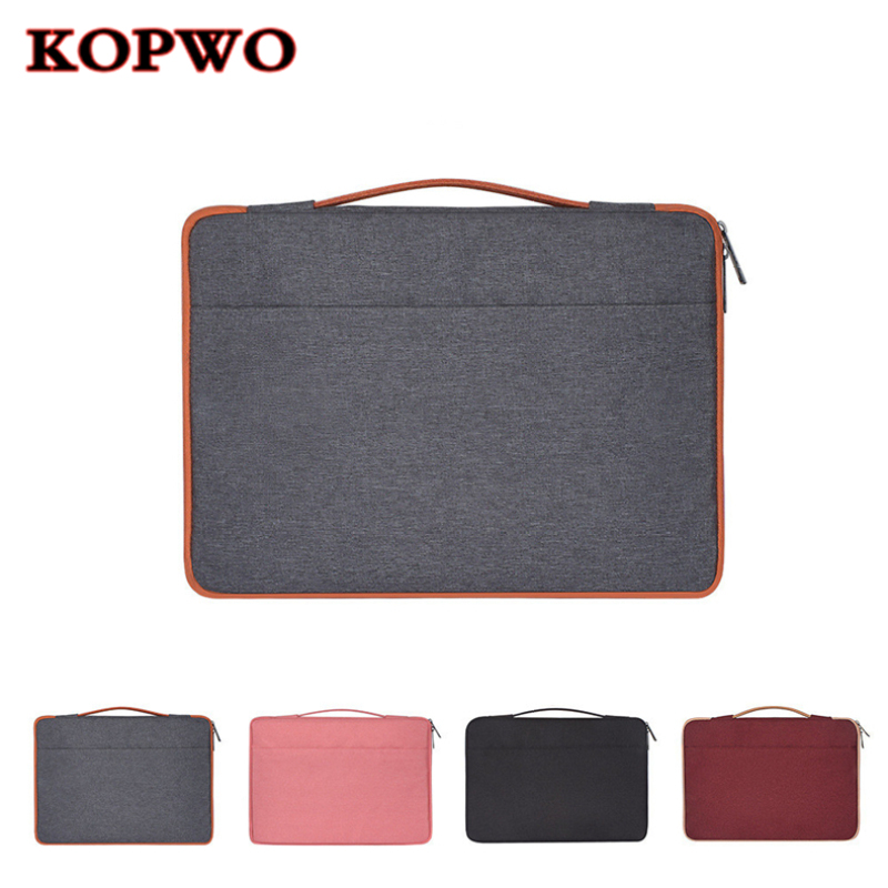 KOPWO Waterproof Notebook Bag Laptop Briefcase Wear Resistant Shockproof Bag for font b Apple b font