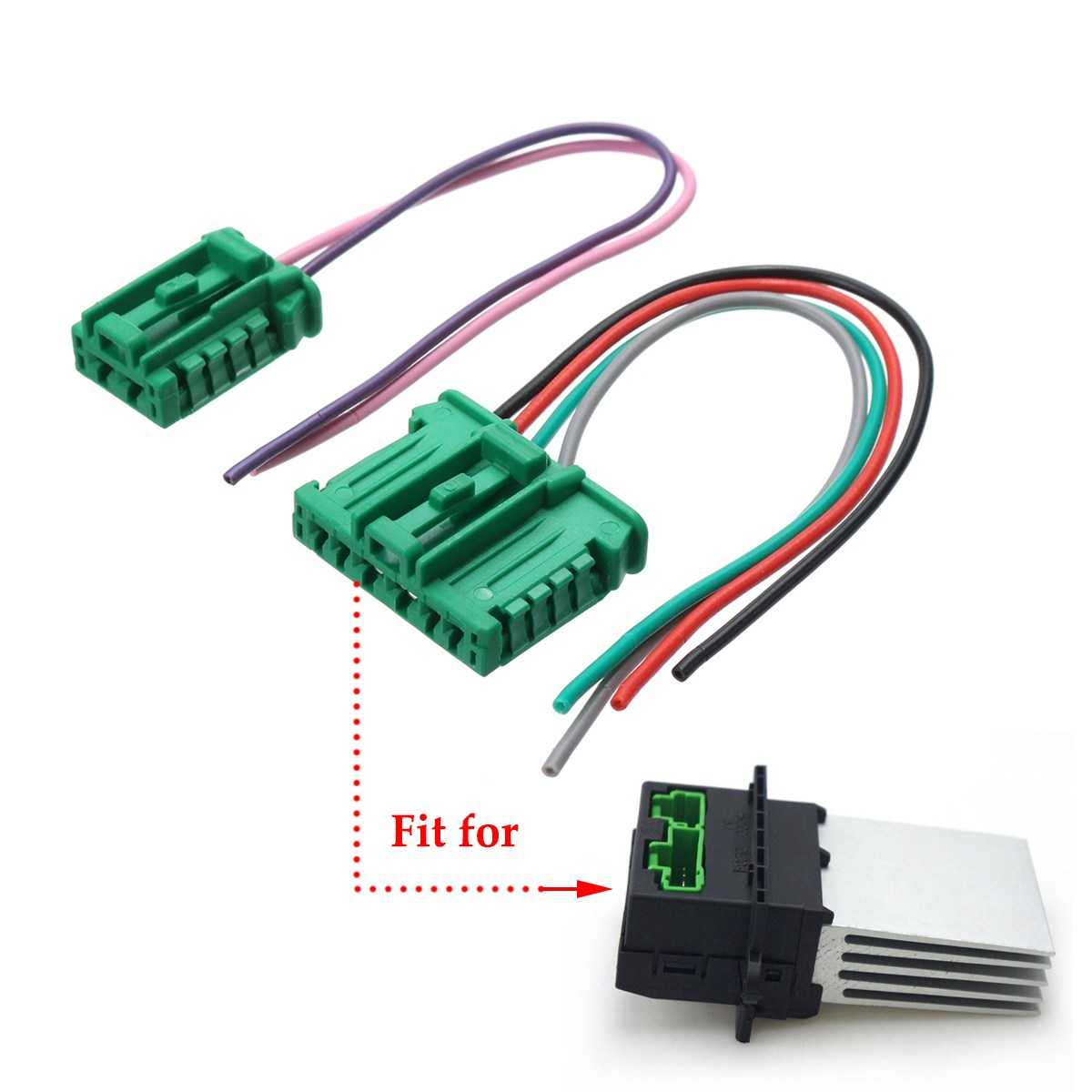 Kroak 1pcs Car Heater Blower Motor Resistor Wiring Loom Harness Peugeot Boxer 27150ed70b For Citroen Renault Megane