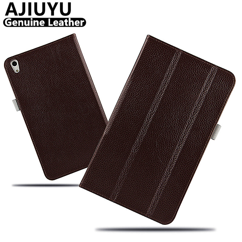 Genuine Leather For Huawei MediaPad T2 8.0 Pro Case Pro T2 8 Smart Cover Honor Tablet 2 JDN-W09 JDN-AL00 Case Protective Cowhide flip pu leather case for huawei t1 10 9 6 t1 a21w tablet case for huawei mediapad t1 t1 a21l t1 a23l honor note smart cover