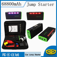 Mobile Emergency Car Jump Starter Stock In RUSSIA 2016 New Multi Function Power Bank Charger Support