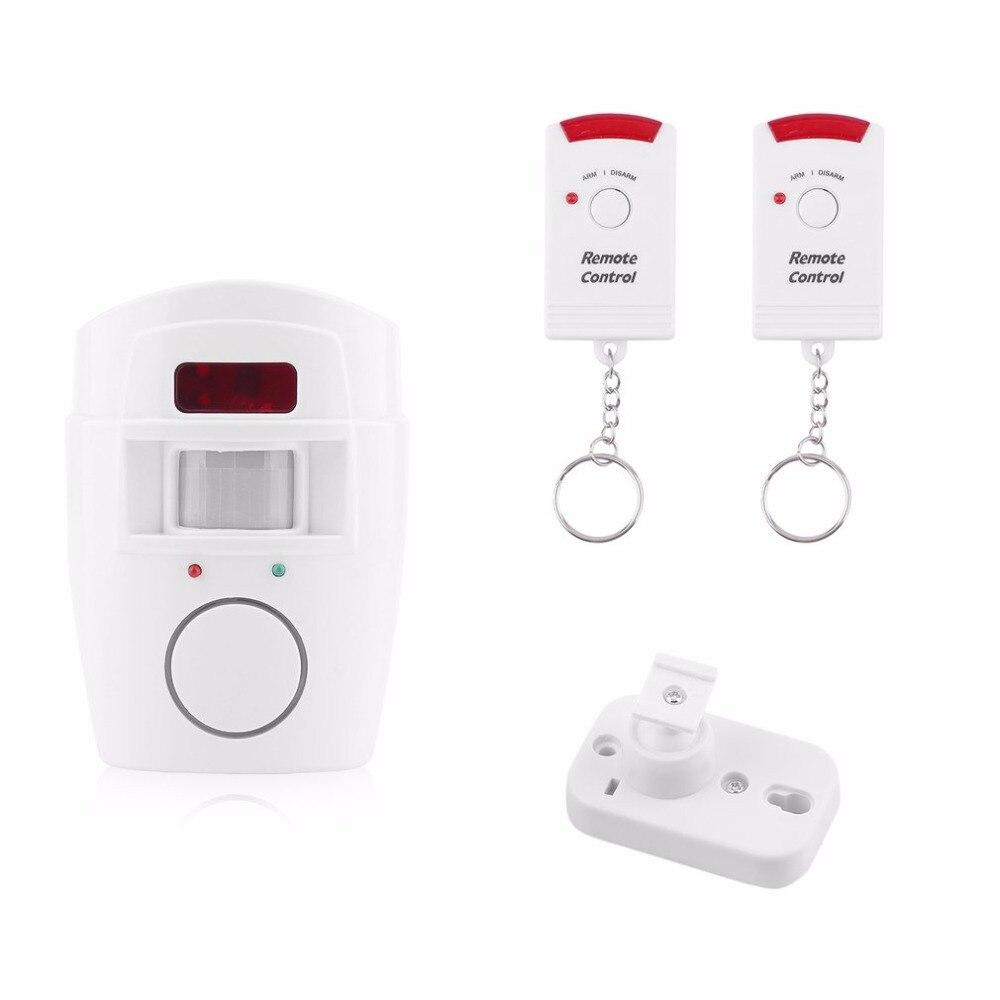 Home Security Alert Infrared PIR Sensor Anti-theft Detector Alarm Monitor Wireless Alarm ...