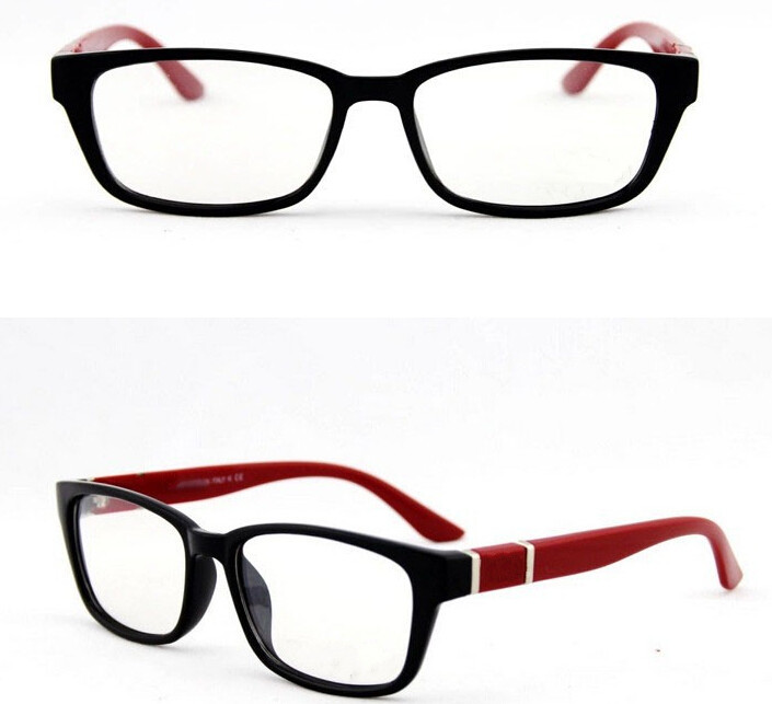 Brand optical glasses frames fashion style metal decorations bright reading eye frame men women - Top Glasses Discounters store