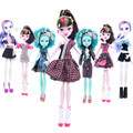 1 Pcs Suitable for 28CM Genius monster Dolls Clothes Beautiful Handmade Party Dress Fashion Clothes For Barbie Doll Best Gift