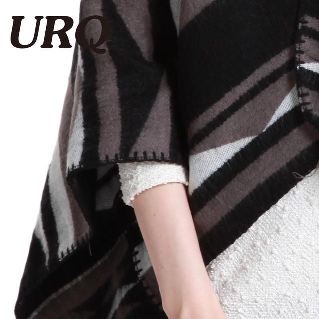 winter warm poncho pashmina scarf tartan poncho feminino women scarf luxury brand soft warm 2017 new