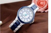 Простые MELISSA бизнес Женские высокотехнологичные керамические часы большой размер Vogue женский браслет для часов Кварцевые Календарь женски