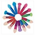 1pcs Makeup Beauty Sponge Wand 15 Colors Blender Blending Cosmetic Puff Powder Smooth Make Up Tool Makeup Brushes Liquid Sponge