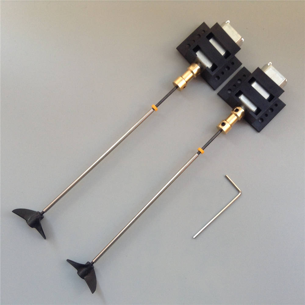 1Set Dual Motors RC Boat Drive Set 180 Motor+Motor Seat+Copper Coupling+15cm Shaft+CW CCW Propellers Assembly Kit for DIY Models 4 pairs eachine 3020 propellers cw ccw for bg1104 4000kv motors dys x160