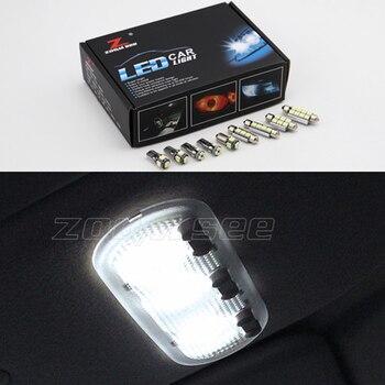 Hoàn hảo Trắng Lỗi Miễn Phí Cho 1995-2017 Renault Megane TÔI II III IV 1 2 3 4 CC Xe Ô Tô đèn LED Nội Thất Đọc bản đồ đèn Bộ