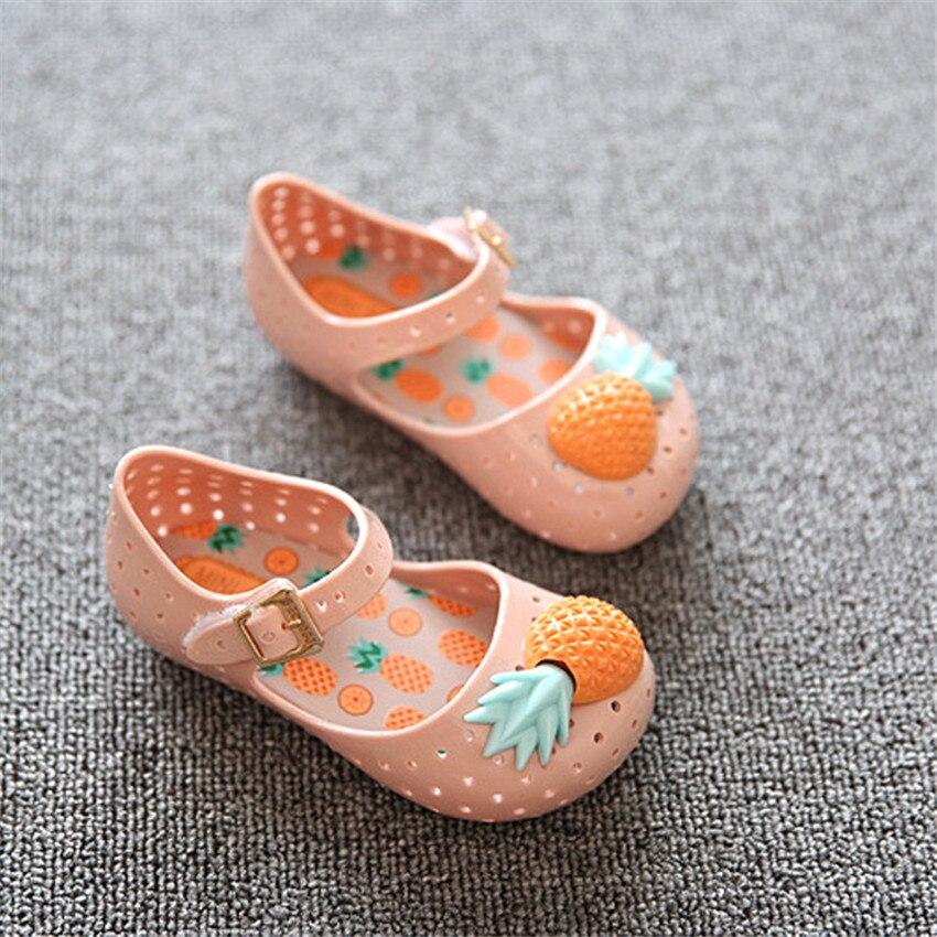 PU TIAN Baby Soft Sole Buty Pineapple Fruit Jelly Summer Baby Shoes - Obuwie dziecięce - Zdjęcie 5