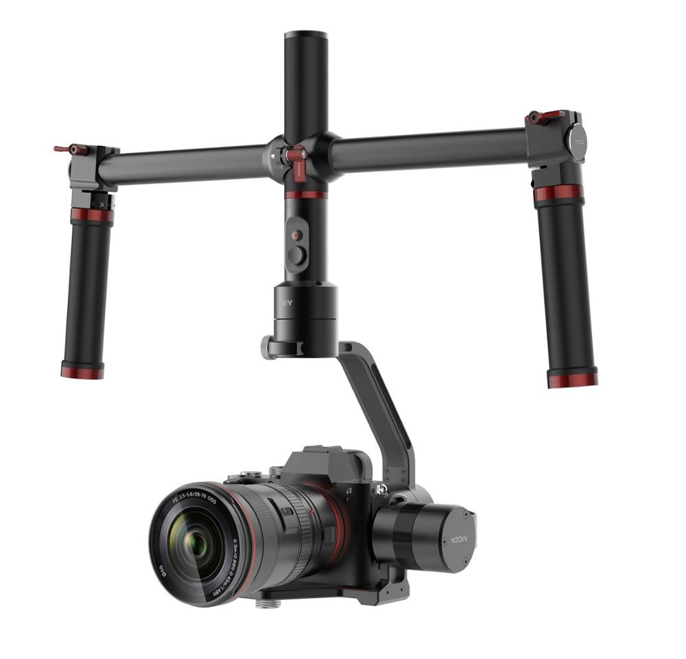 MOZA Air 3-Axis Handheld Gimbal Camera Stabilizer for all mirrorless cameras,including series GH4/GH3 BMPCC PK zhiyun crane m bestablecam h4 rtf brushless handheld encoder mirrorless digital camera gimbal gyro stabilizer for gh3 gh4 a7s nex5 bmpcc