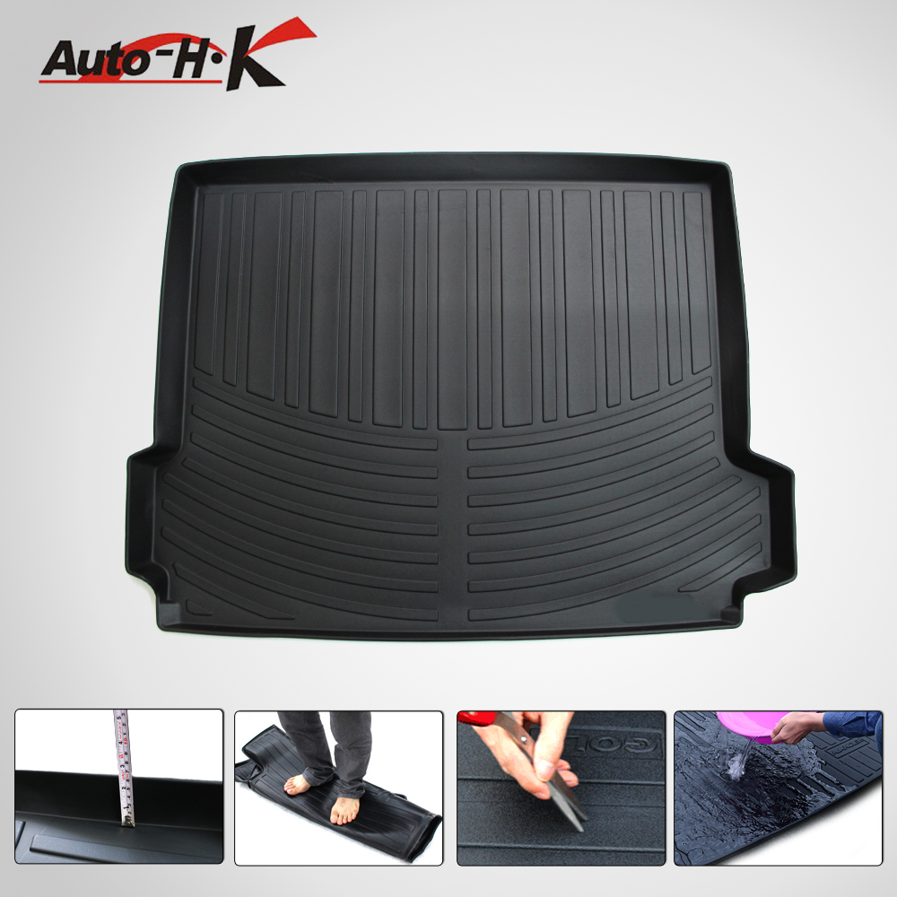 Fits bmw x3 12 15 all weather tpo trunk mat rear cargo liner boot carpet car trunk tray waterproof rear floor mat