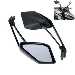 Motorcycle  Black Rear View side Mirrors pair For Kawasaki Z1000 2014 2015 2016 Motorbike accessories
