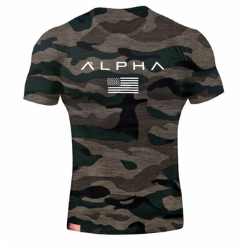 camo military army cotton mens tshirt