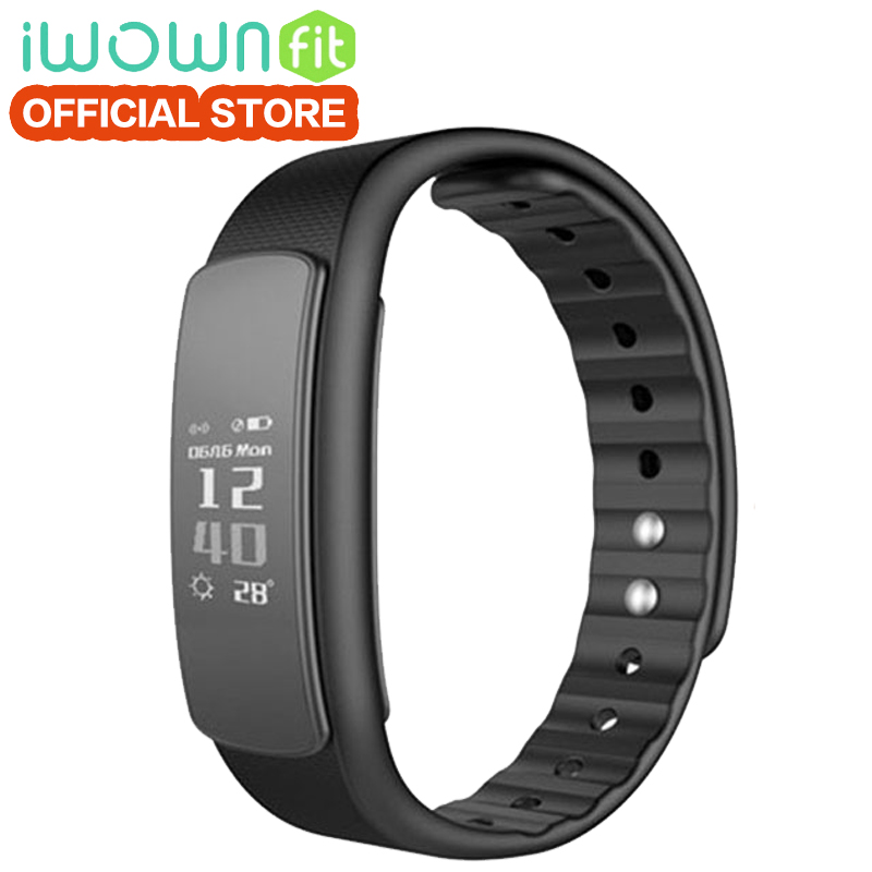 IWOWN I6 HR smart band Passometer HeartRate Monitor Sport Wristband Bluetooth4.0 Smart Bracelet Fitness Tracker for IOS Android