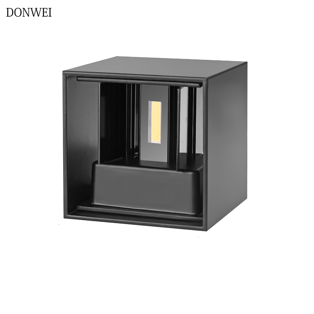 Outdoor Waterproof IP65 6W 12W Wall Lamp Modern LED Wall Light Indoor Sconce Decorative lighting Porch Garden Lights Wall Lamps|LED Outdoor Wall Lamps| |  - title=