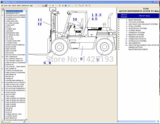Daewoo Forklift Transmission Diagrams - Fav Wiring Diagram on
