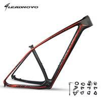 LEADNOVO 27.5/29er pf30 mtb carbon bike frame mountain bicycle frameset bicicletas mountain bike chinese carbon frames 135/142mm