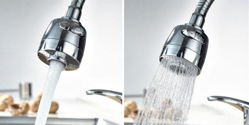 Keukenkraan beluchter water waskolf douchekop waterbesparende