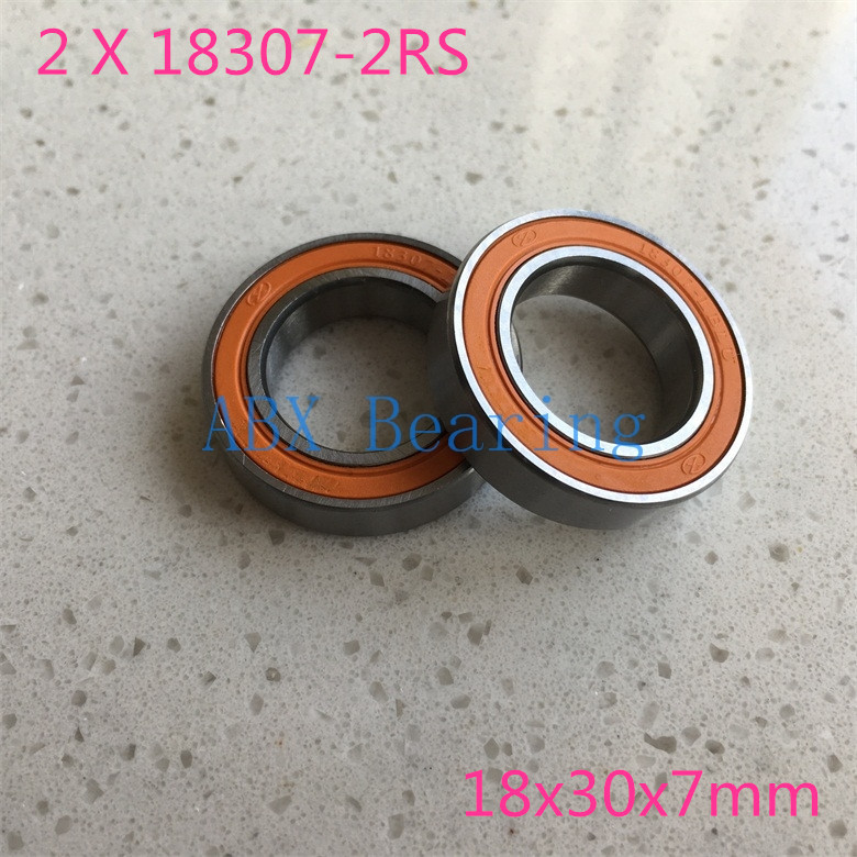 Free shipping 2pcs/lot 6903/18 18307-2RS 18307 6903 RS MR18307-2RS No standard bike bicycle bearing 18x30x7 18*30*7 timex часы timex tw4b03500 коллекция expedition