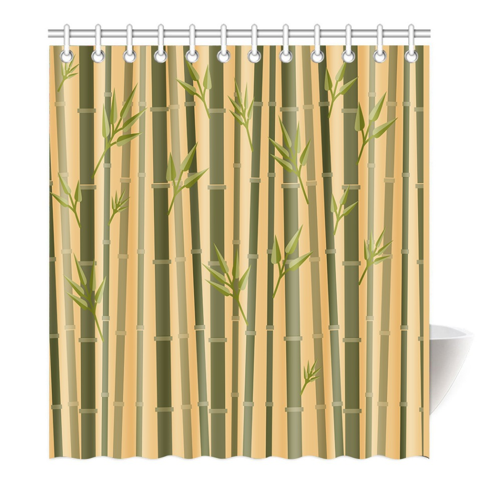 online kopen wholesale bamboe douchegordijn uit china bamboe