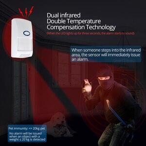 Image 4 - SONOFF 433MHZ RF Brücke Wifi Tür Fenster Motion Sensor DW1 Wireless Detektor PIR2 433 Alarm Fernbedienung Smart Home Sicherheit system