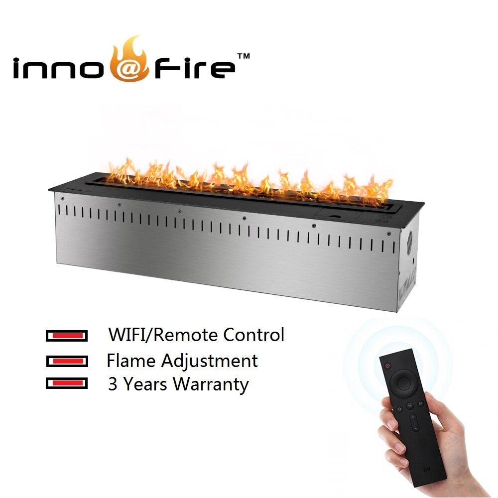 On Sale 48 Inch Decorative Fireplace Bio Ethanol Remote Control